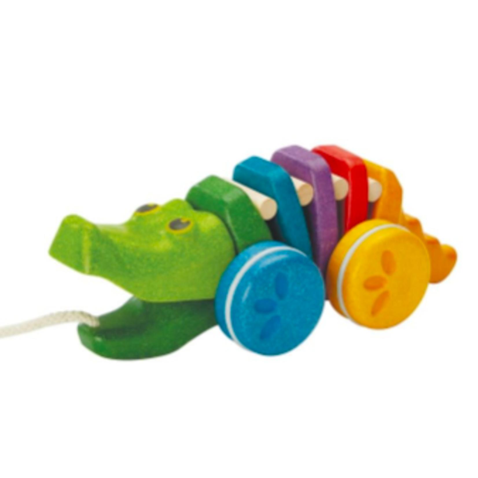 Plan Toys Rainbow Dancing Alligator