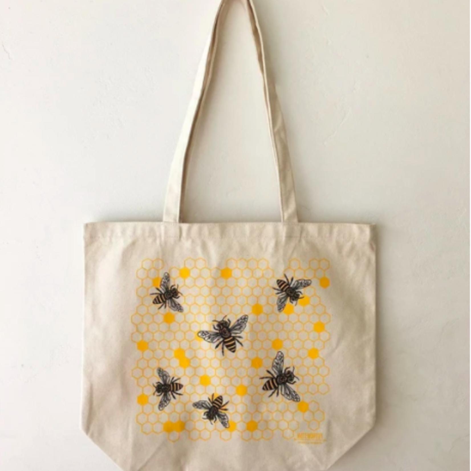 Noteworthy Honey Bees Tote Bag