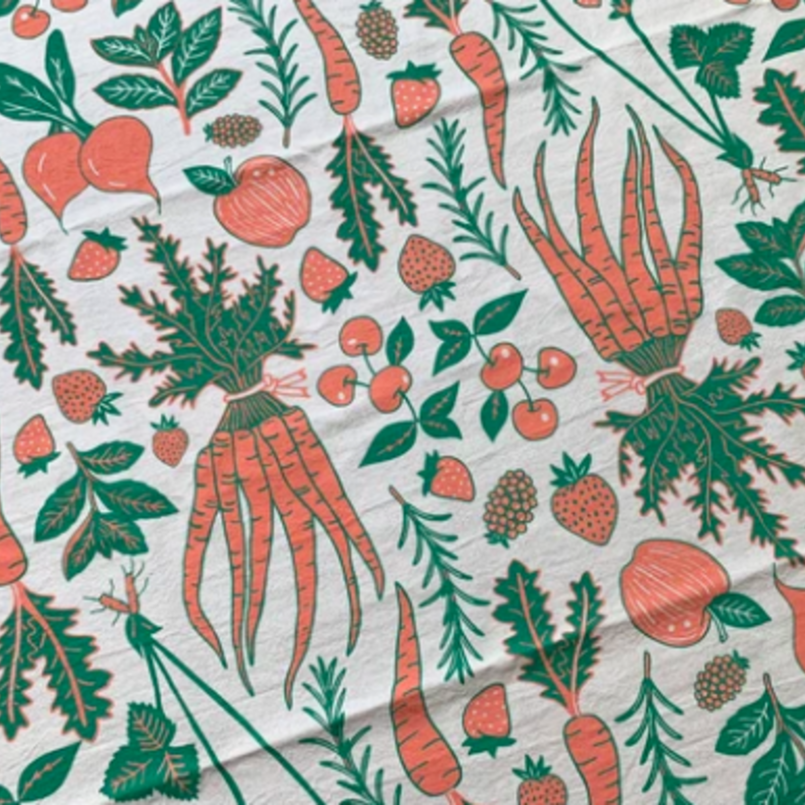 Noteworthy Fruit & Veggie Tea Towel