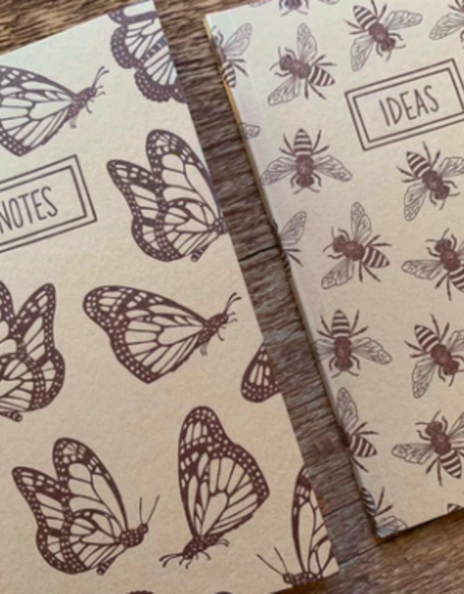 Noteworthy Monarchs & Bees Notebook Set
