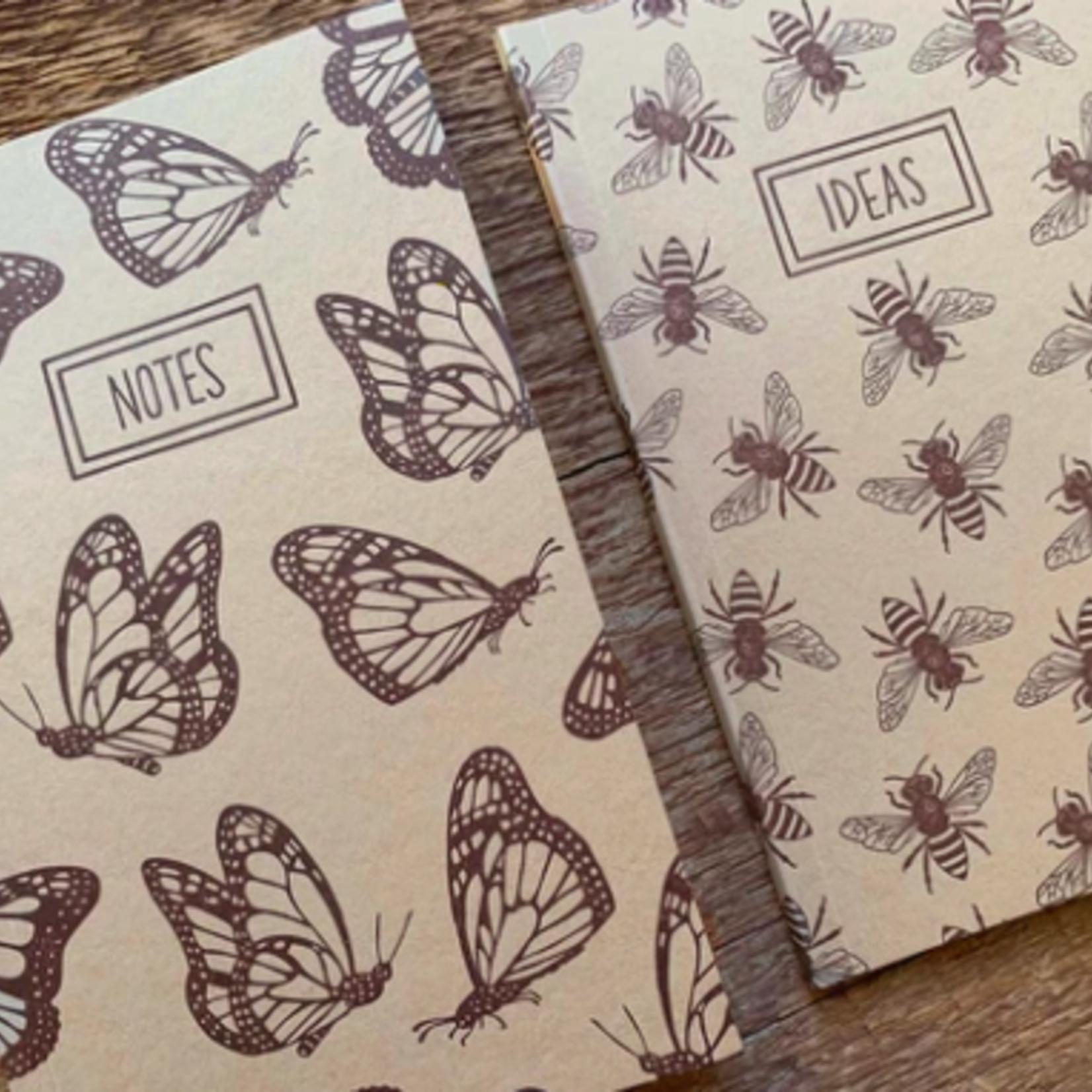 Noteworthy Monarchs & Bees Notebook Set