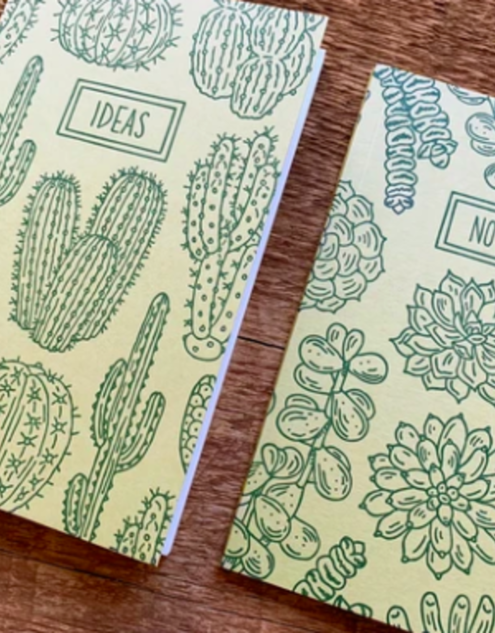 Noteworthy Cacti & Succulents Notebook Set