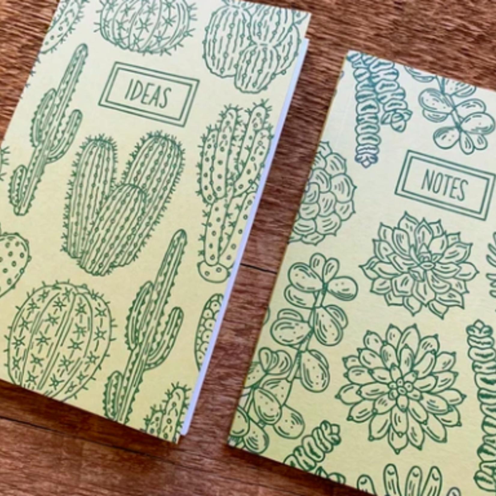 Noteworthy Cacti & Succulents Notebook Set