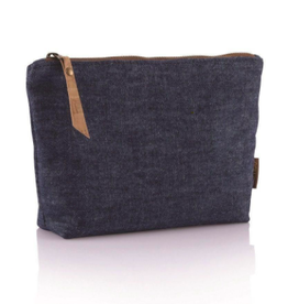 Bambu Hemp Denim Zip Pouch