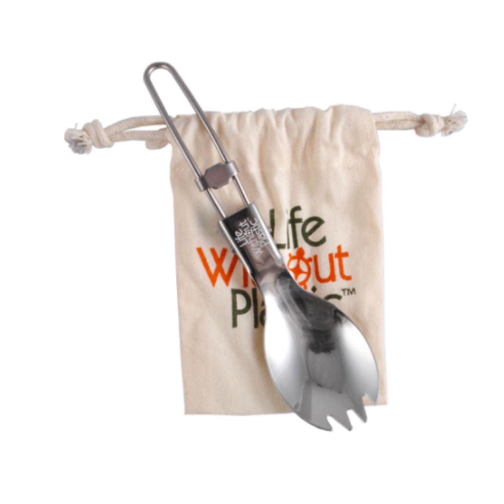Life Without Plastic Folding Spork