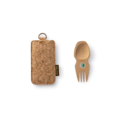 Bambu Spork & Cork Set