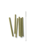 Bambu Short Bamboo Straw Set