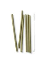 Bambu Long Bamboo Straw Set