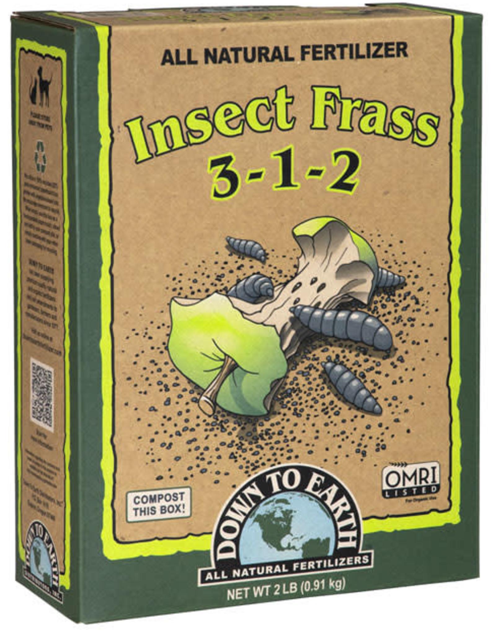 Insect Frass Fertilizer 3-1-2