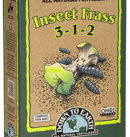 Insect Frass Fertilizer 3-1-2