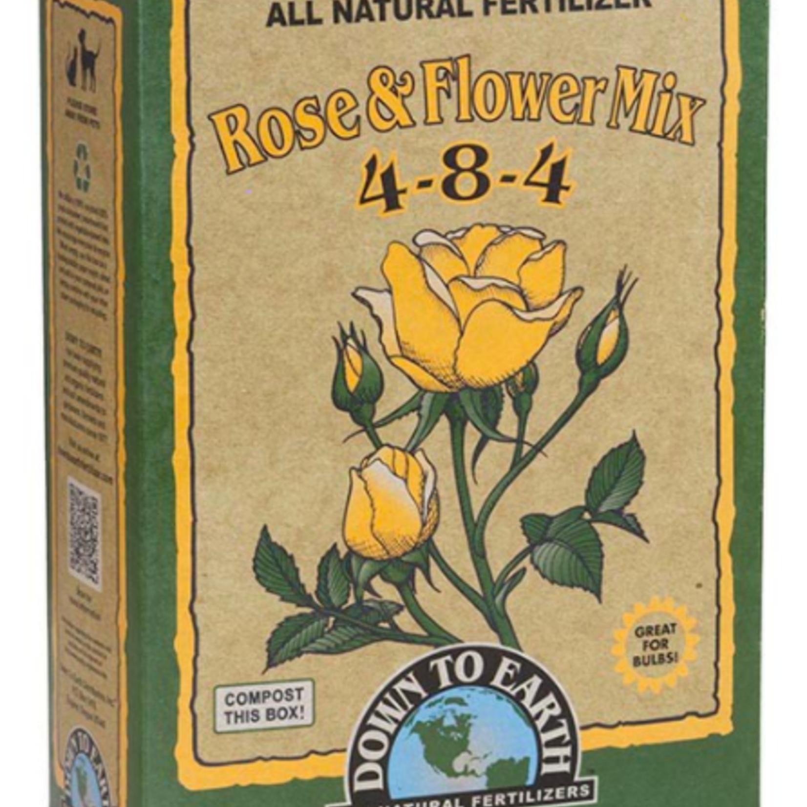 Rose & Flower Fertilizer 4-8-4