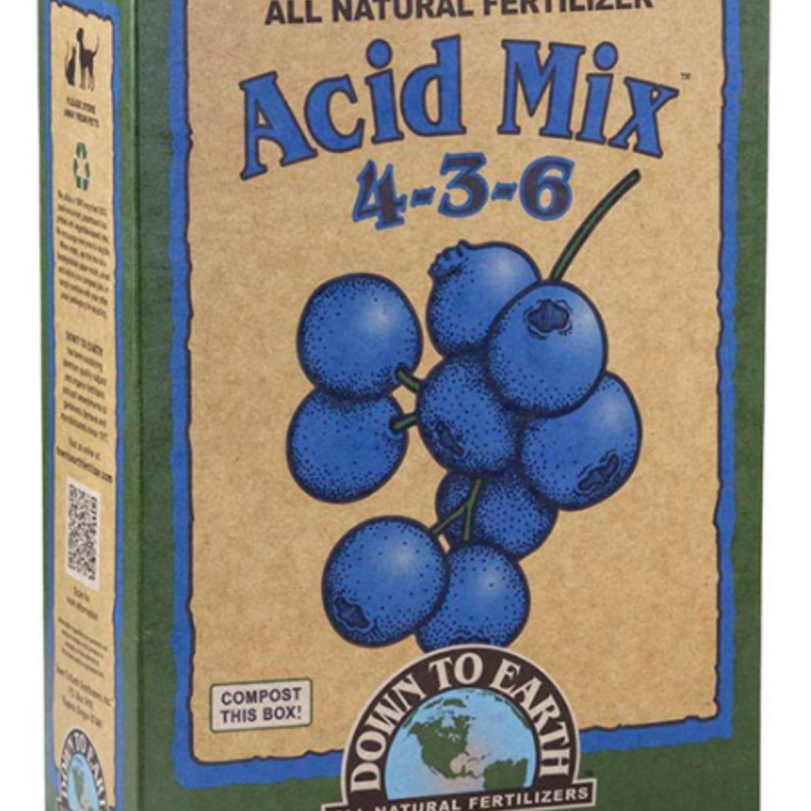Acid Mix Fertilizer 4-3-6