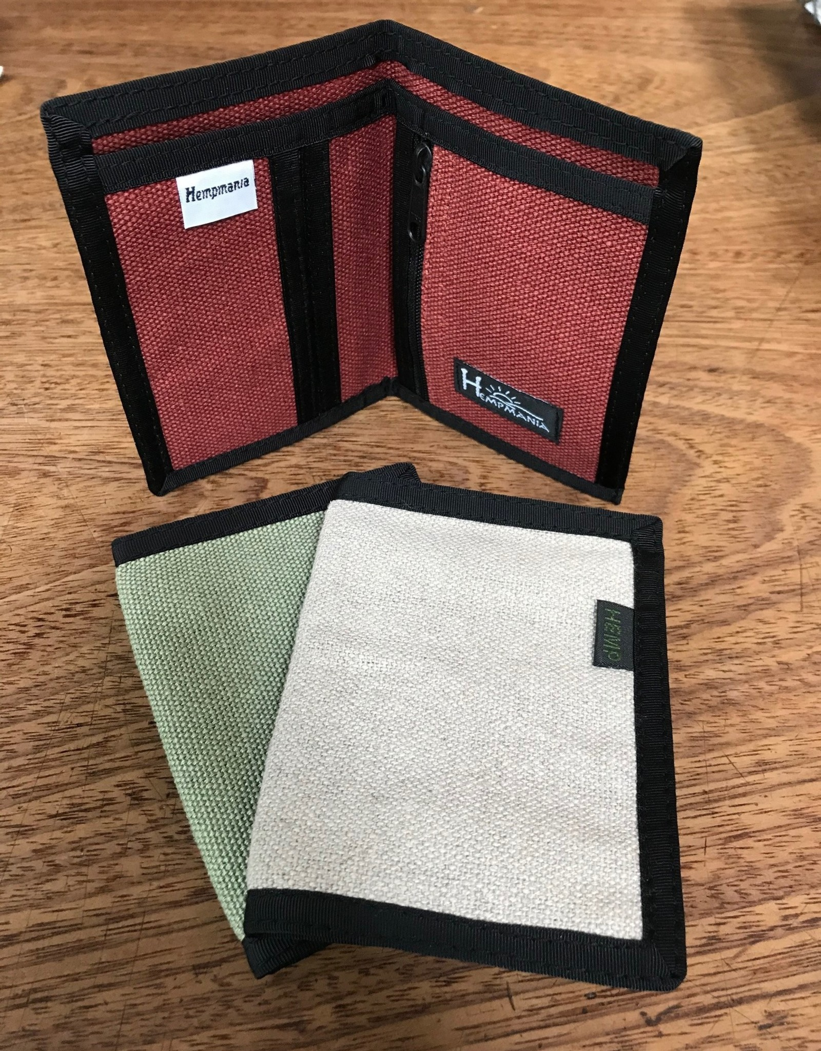 Hempmania Hemp Bifold Wallet