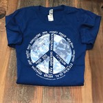 Voices for Peace in 37 Languages T-shirt