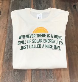 A Spill of Solar Energy T-shirt
