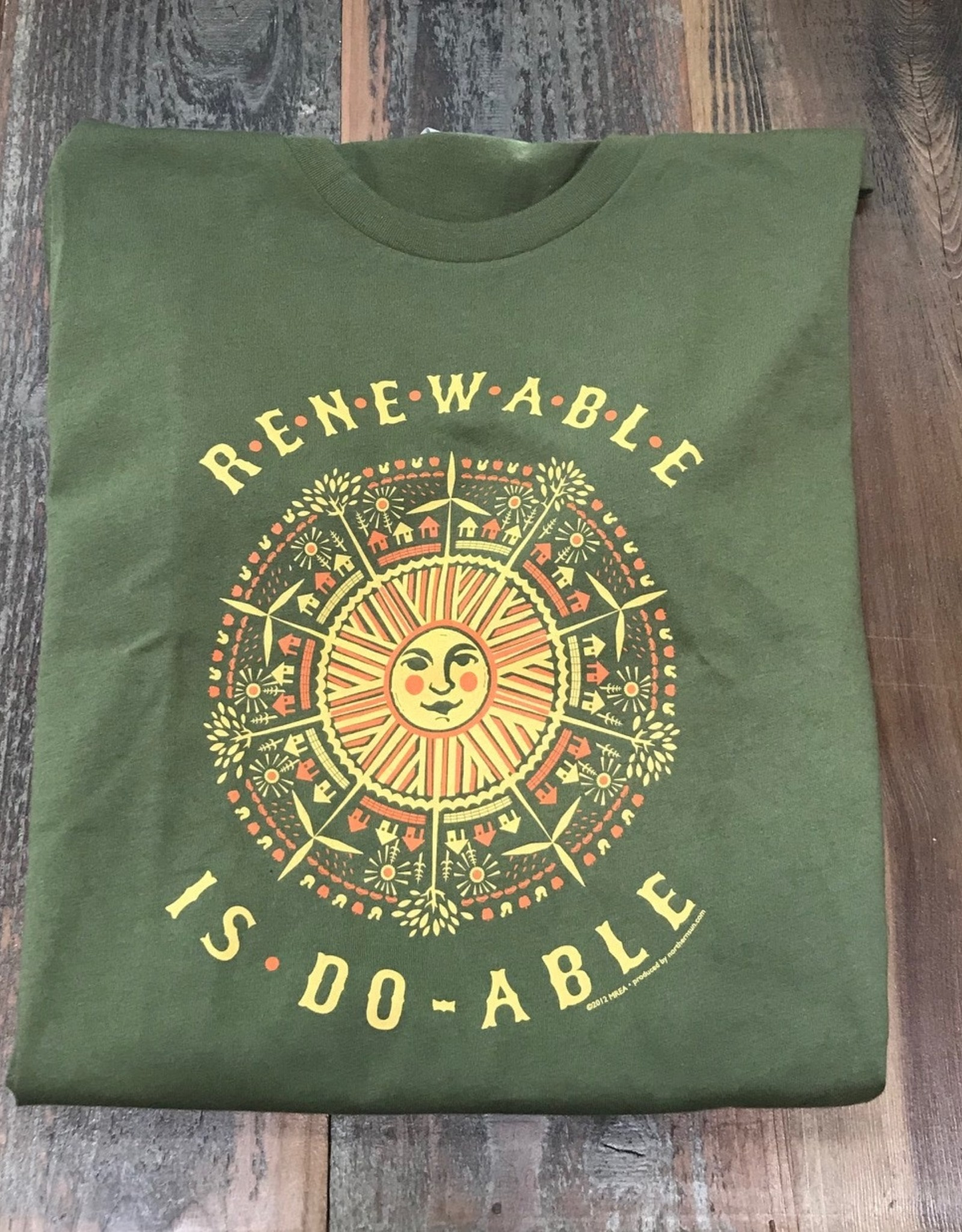 Renewable Is Doable T-shirt