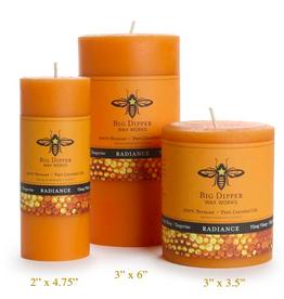 """Big Dipper 3"""" x 3.5""""  Aromatherapy Pillar  Candles"""