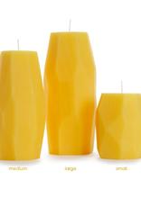 Big Dipper 100% Beeswax Faceted Pillars