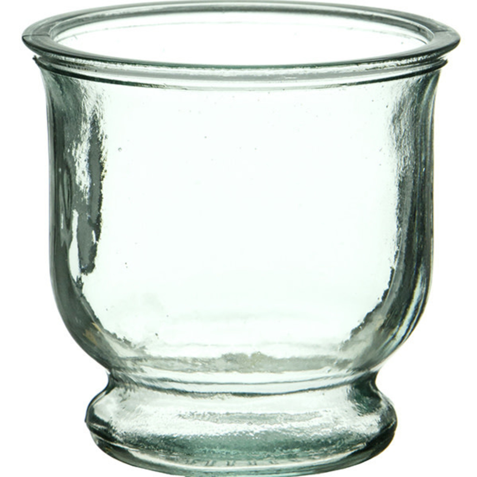 """Recycled Glass 3.5"""" Votive Candle Holder"""
