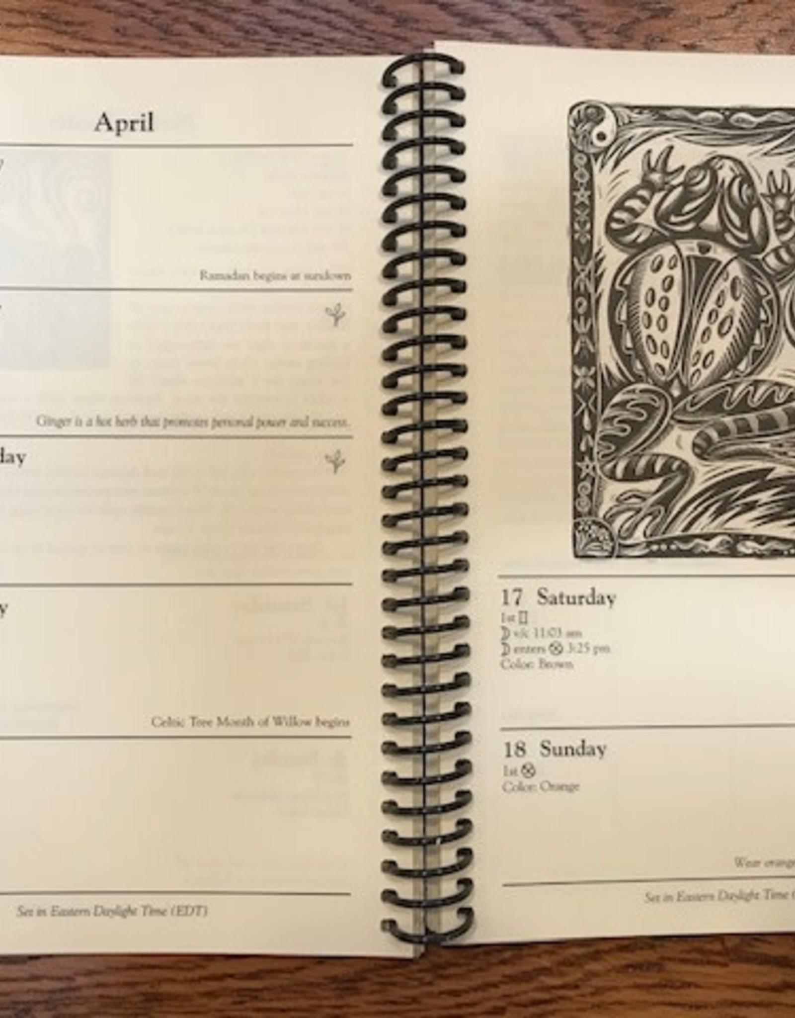 Llewellyn's Witches' Datebook 2021