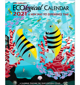 Chris Hardman's EcoLogical Calendar 2021: A New Way to Experience Time Engagement Calendar