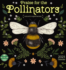 Praise for the Pollinators 2021 Wall Calendar