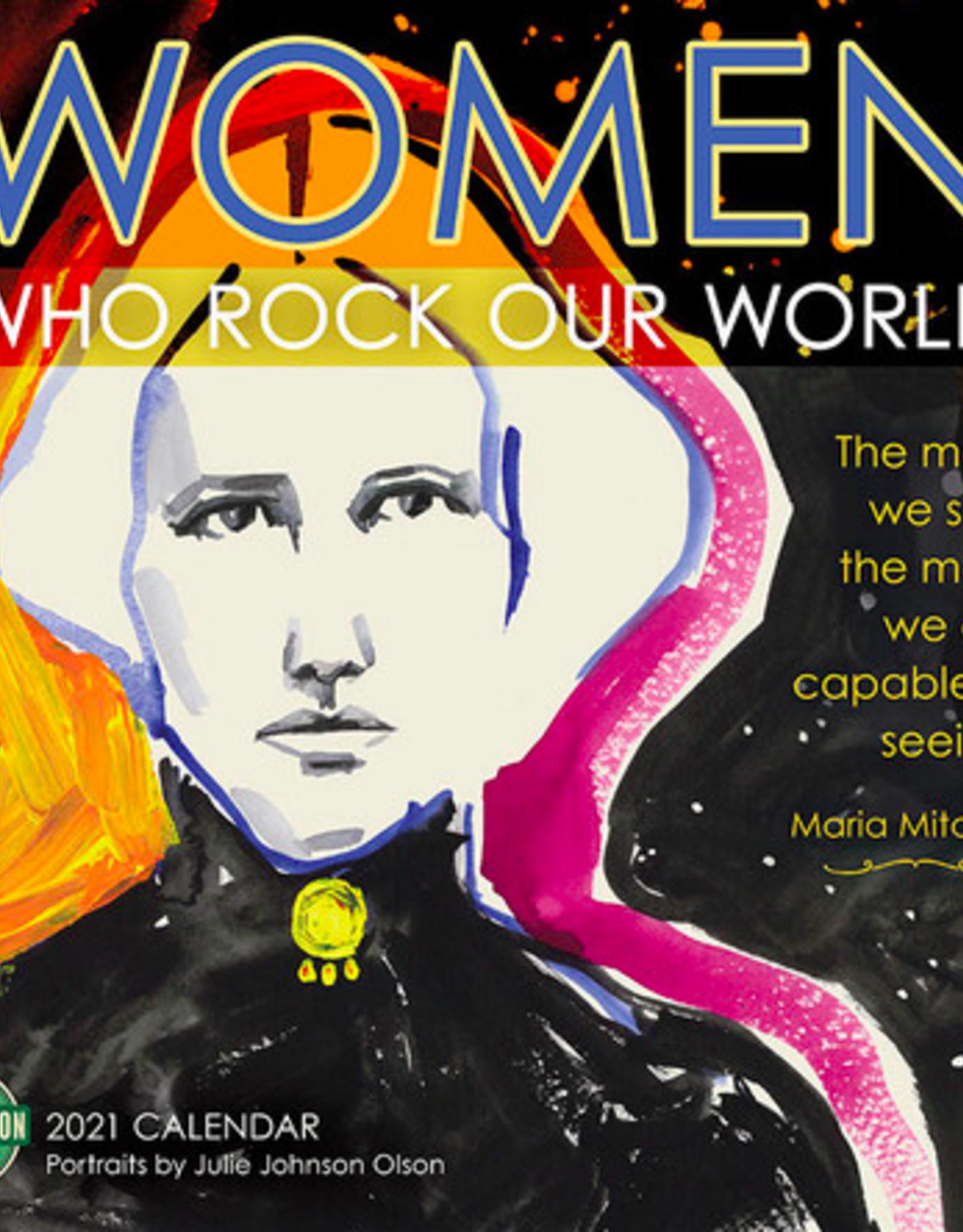 Women Who Rock Our World 2021 Wall Calendar
