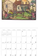 William S. Rice Block Prints 2021 Wall Calendar