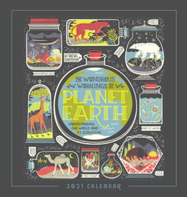 Wondrous Workings of Planet Earth 2021 Wall Calendar