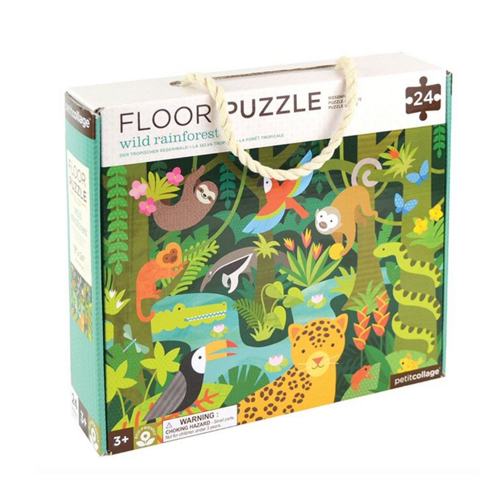 Wild Rainforest 24 Piece Floor Puzzle