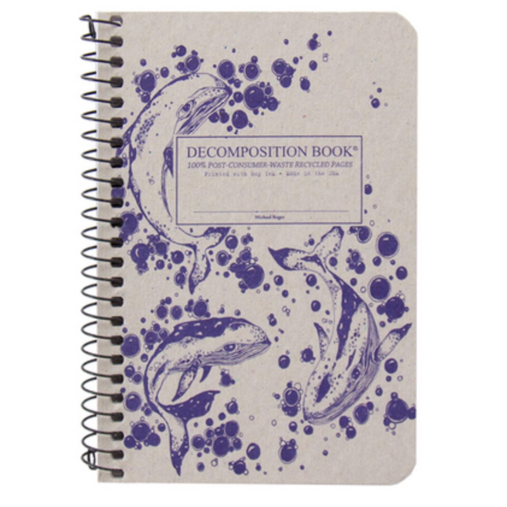 Humpback Whales Pocket Spiral Journal