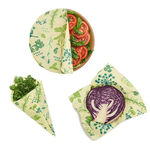 Bees Wrap Vegan Assorted 3-pack