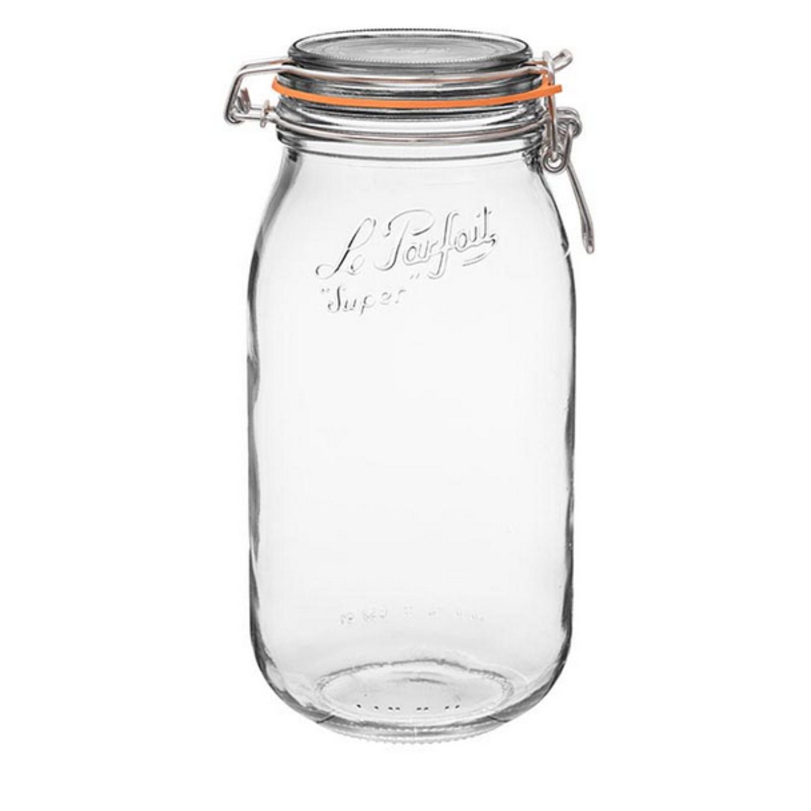 Le Parfait Glass Jar, 101 oz.