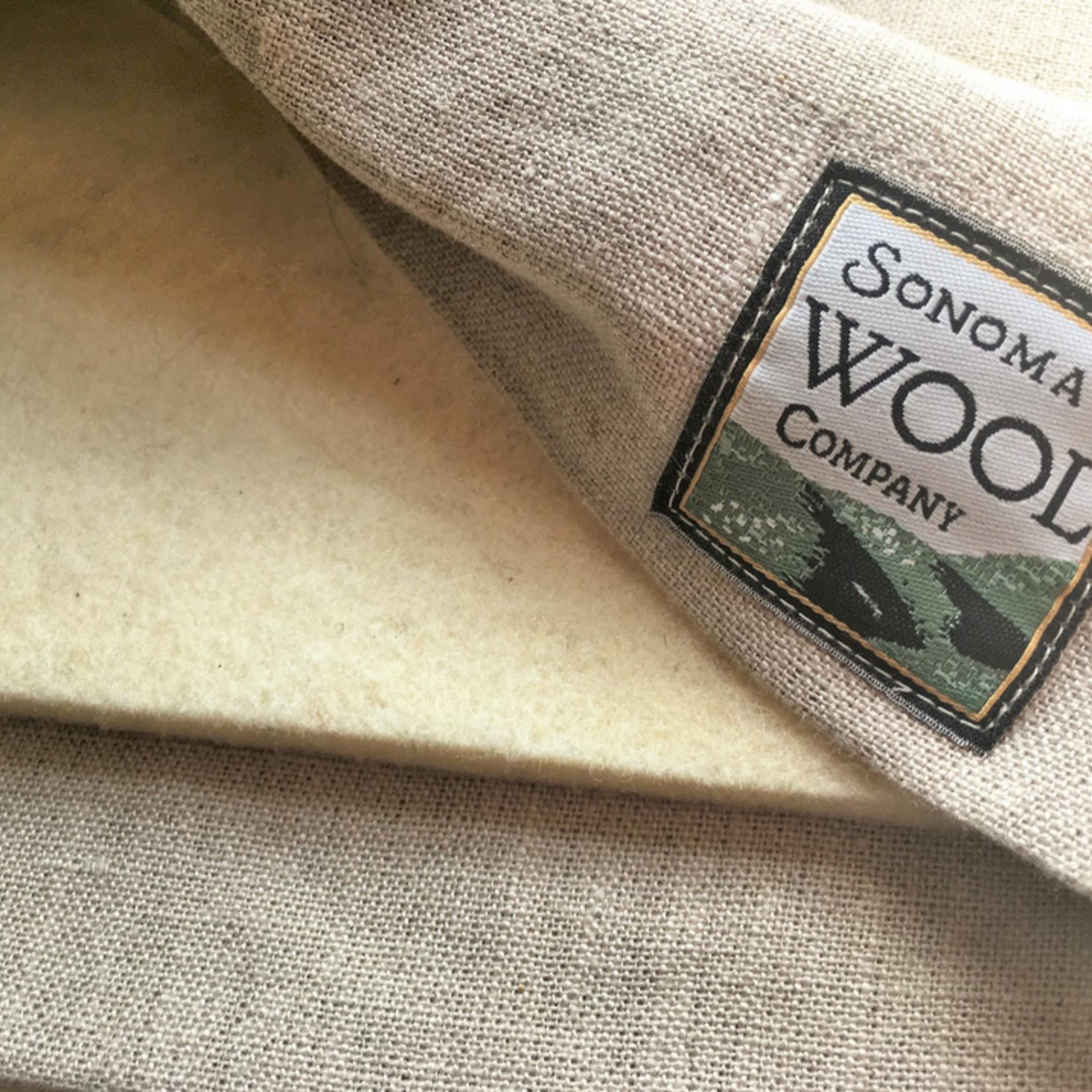 Sonoma Wool Dish Drying Mat & Linen Sleeve