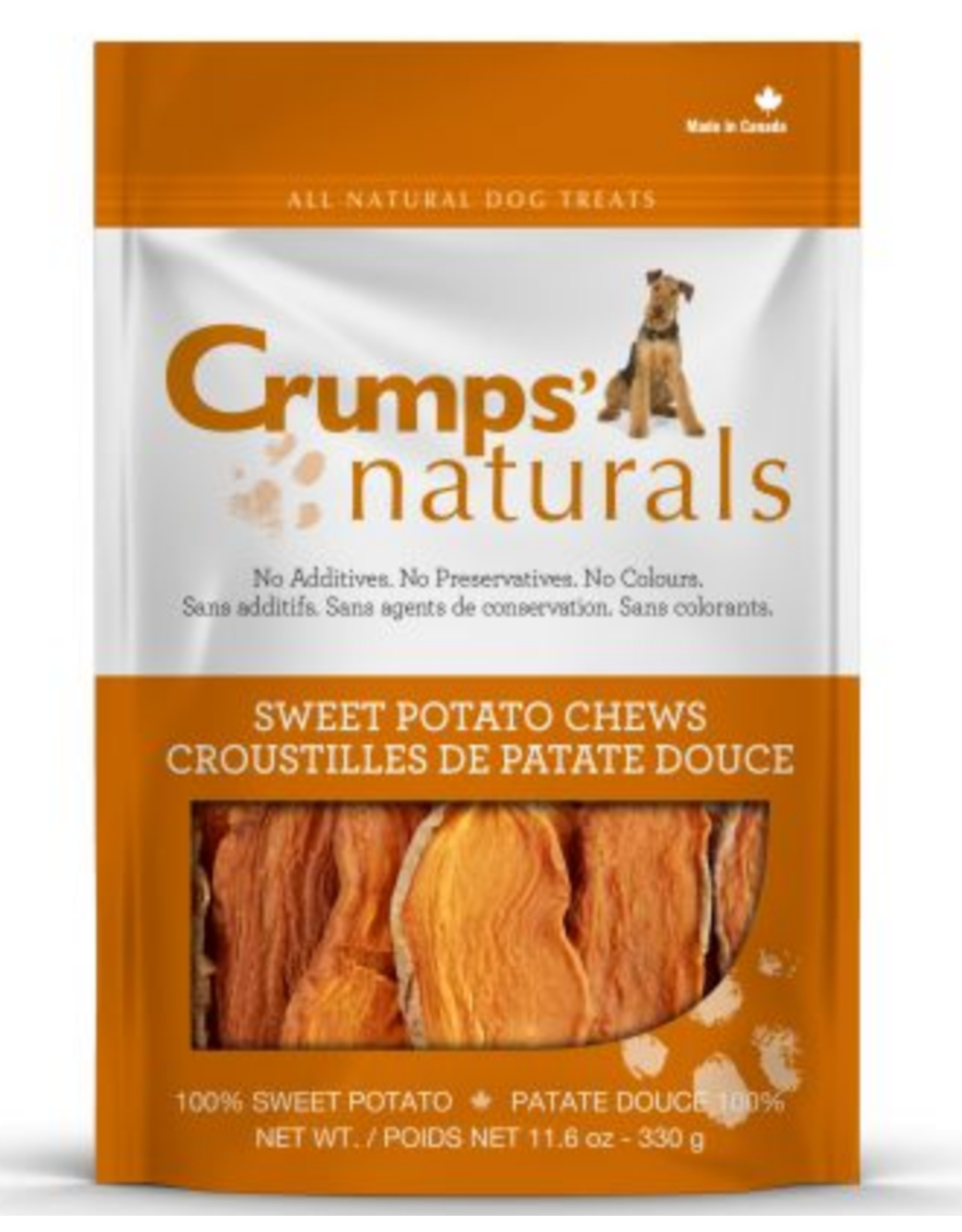 CRUMPS CRUMPS SWEET POTATO CHEWS
