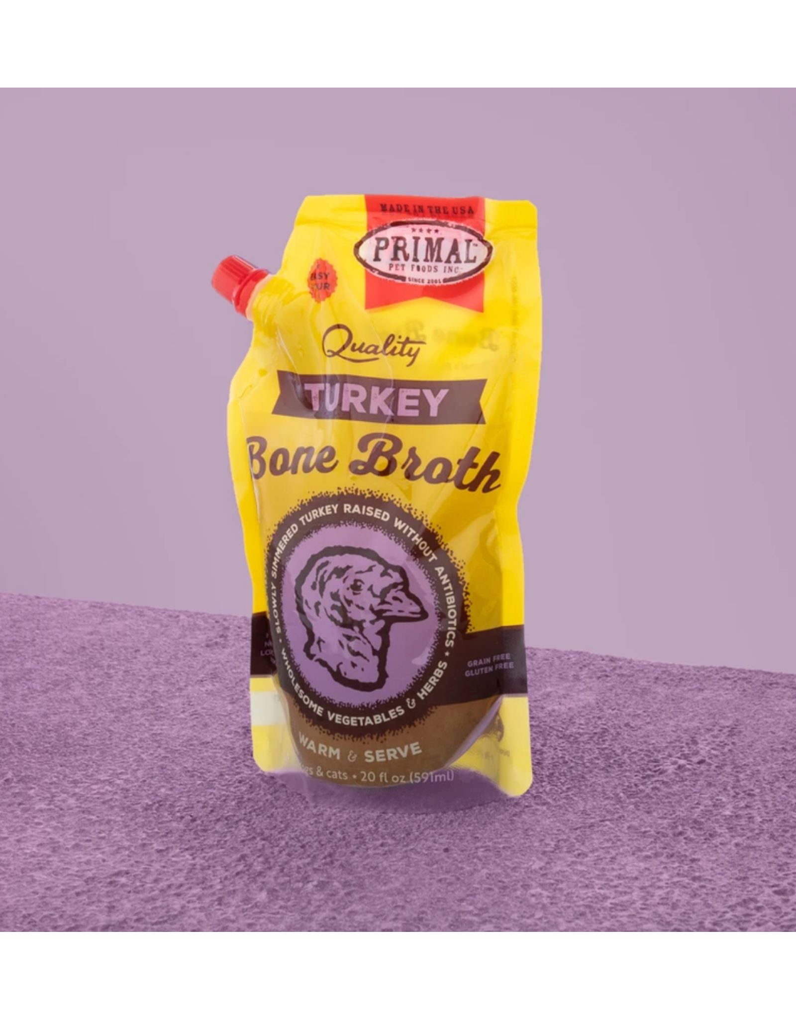 PRIMAL PRIMAL TURKEY BROTH