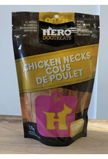HERO DOG TREATS HERO CHICKEN NECKS
