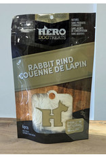 HERO DOG TREATS HERO RABBIT RIND 6PC