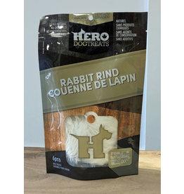 HERO DOG TREATS HERO RABBIT RIND 6PC