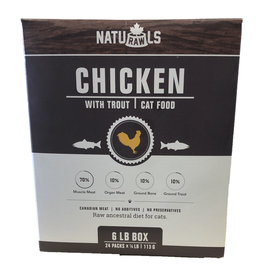 NATURAWLS NATURAWLS CHICKEN/TROUT