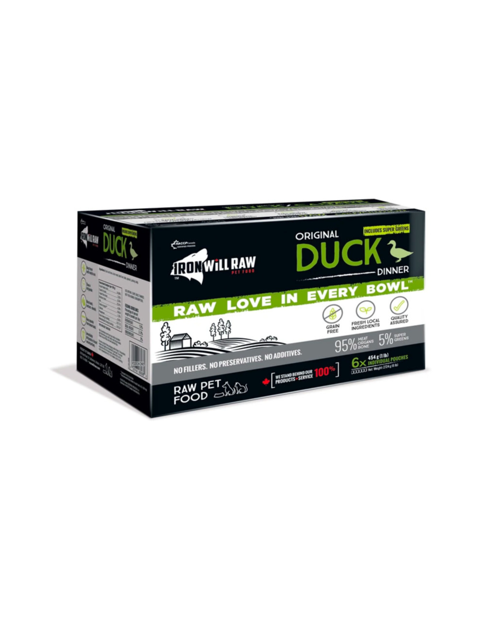 IRON WILL RAW IWR DUCK 6LB