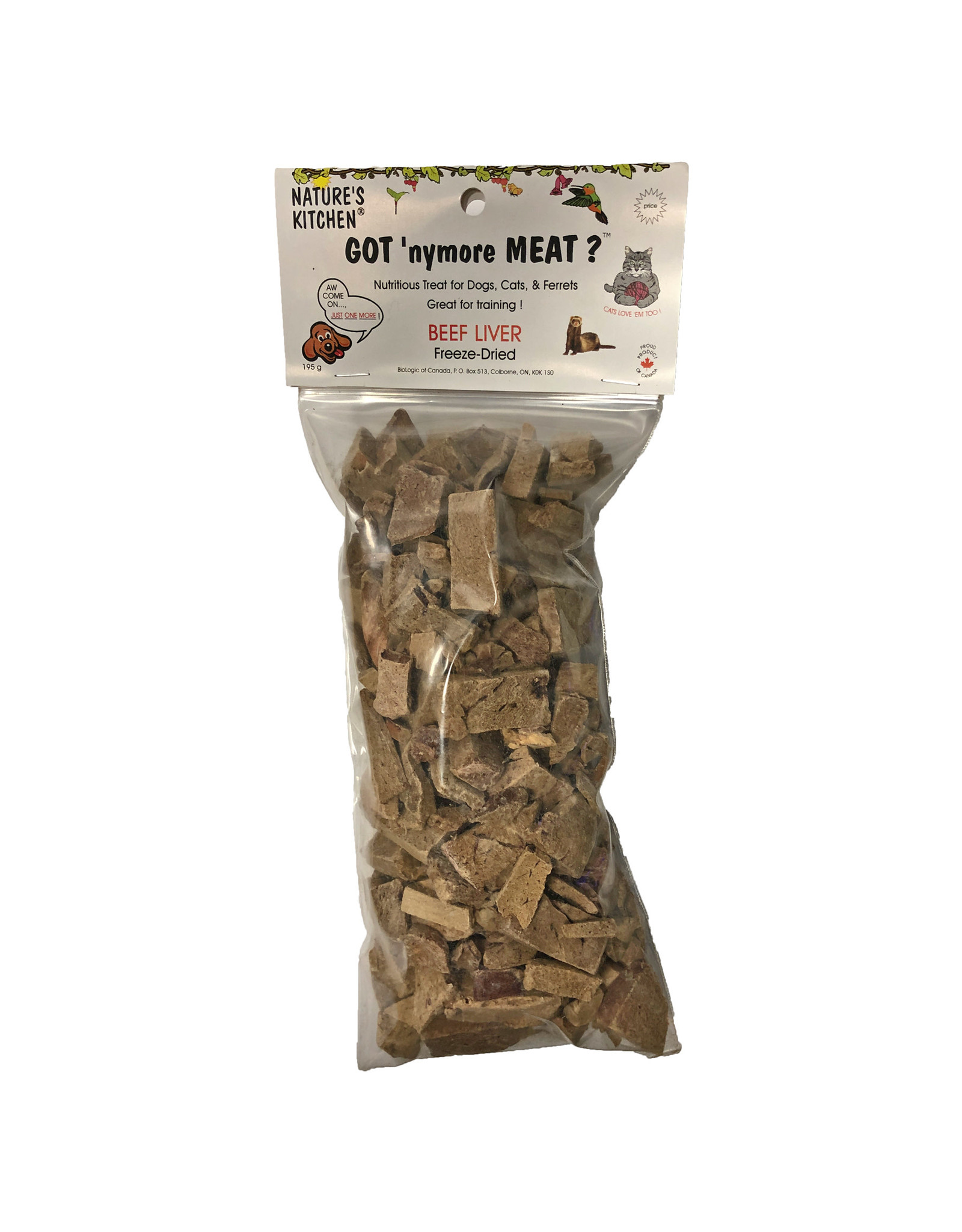 NATURE'S KITCHEN GOT NYMORE BEEF LIVER 195g
