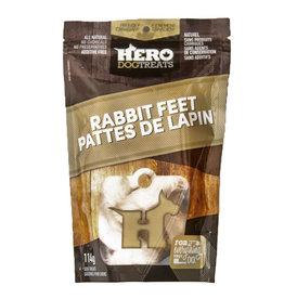 HERO DOG TREATS HERO RABBIT FEET 114g