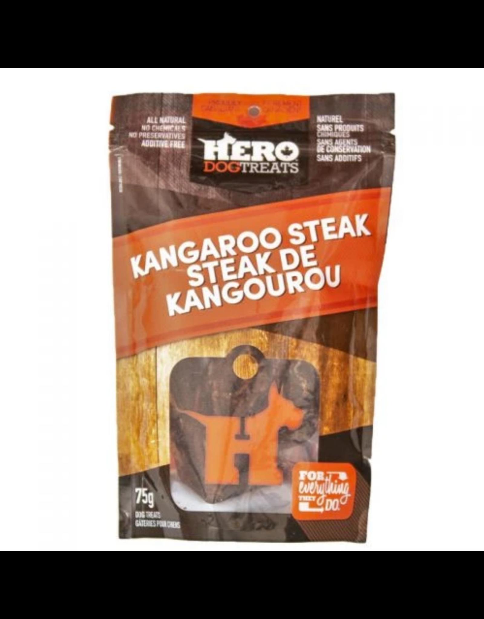 HERO DOG TREATS HERO KANGAROO STEAK
