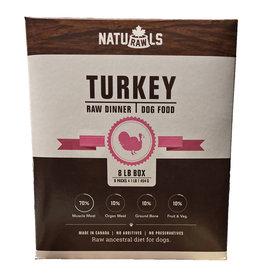 NATURAWLS NATURAWLS  TURKEY 8LB