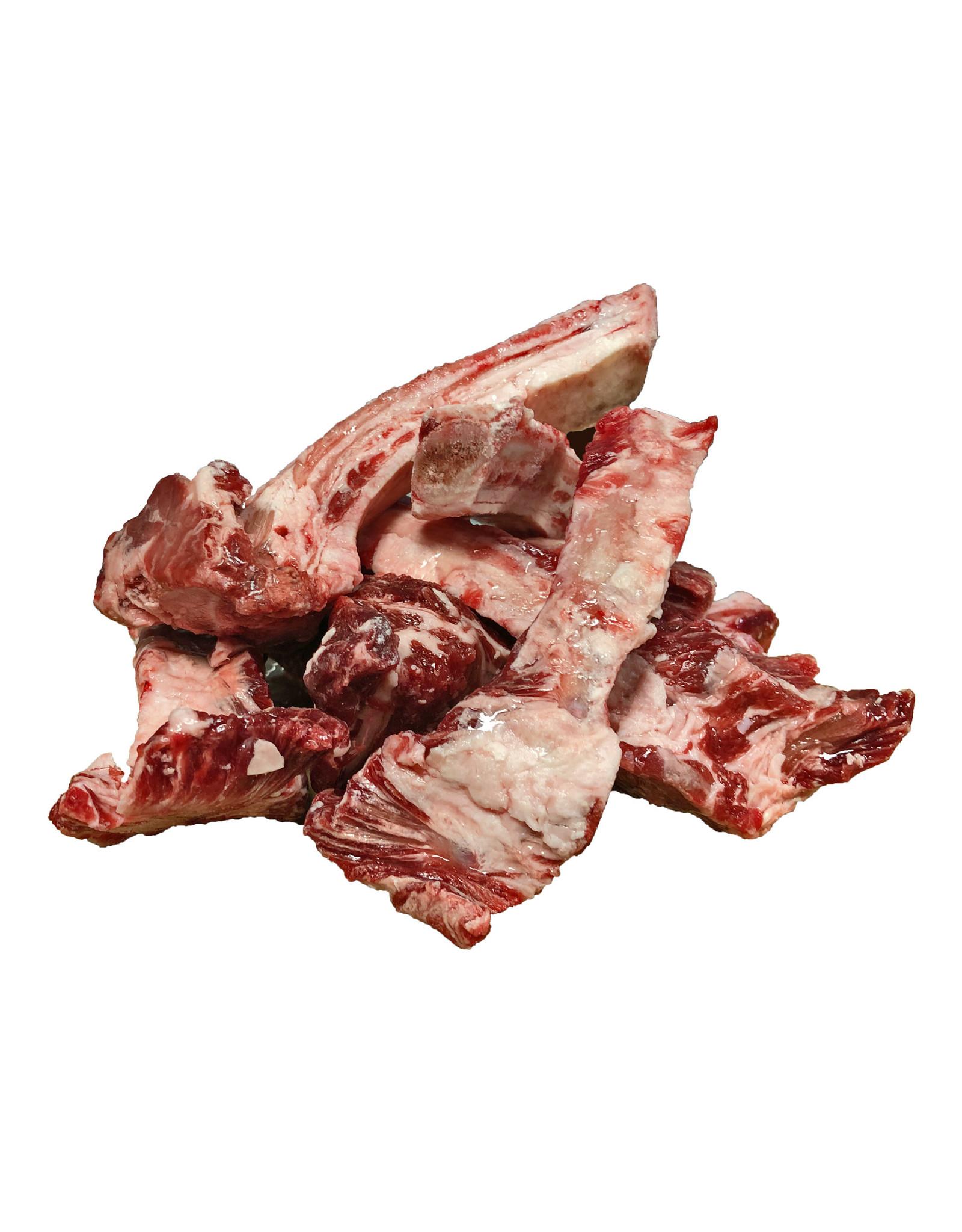 BEST FRIENDS PET FOOD BEEF RIBS MEATY 3LB
