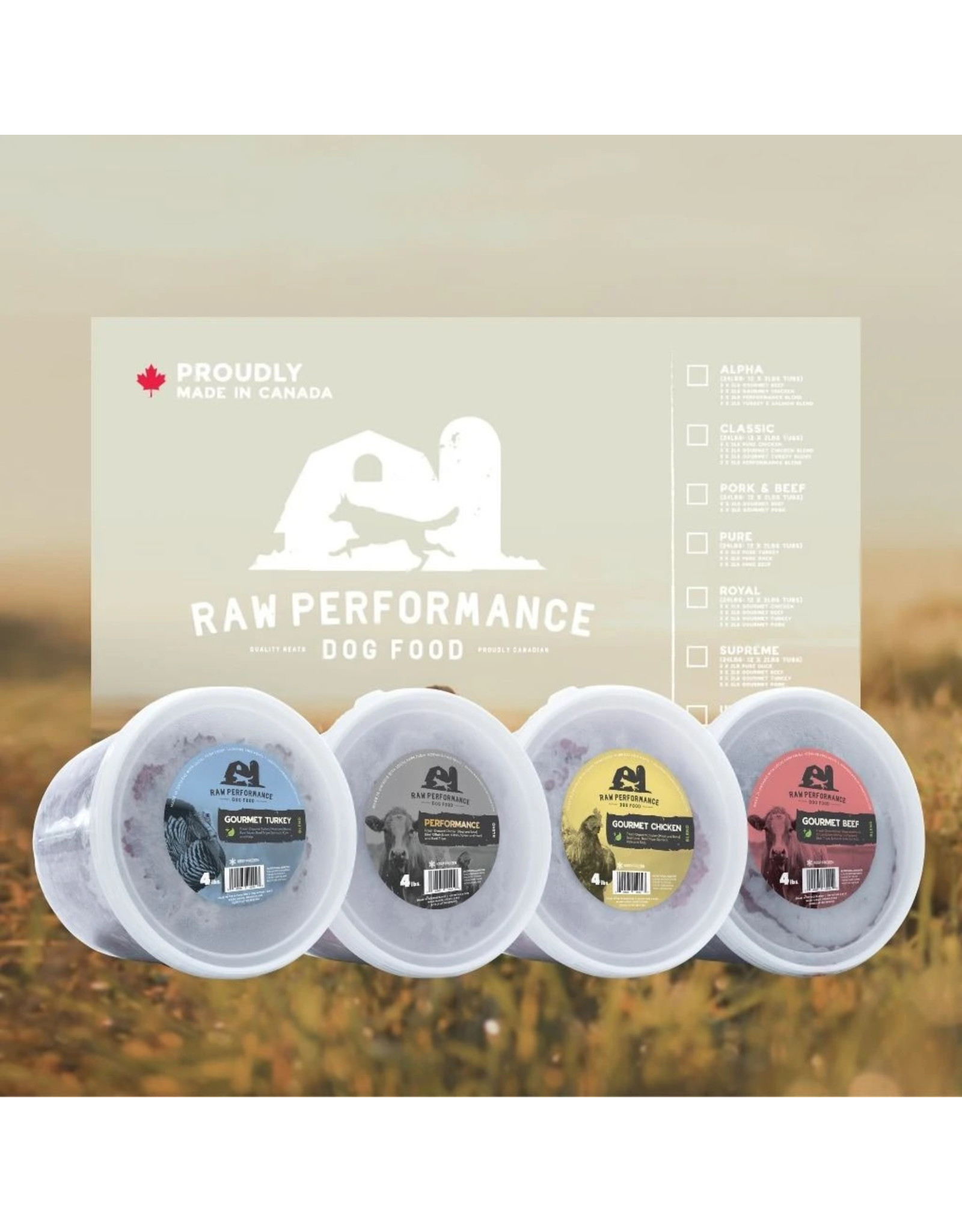 RAW PERFORMANCE RP BEEF WOLF PACK 48LBS