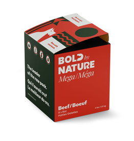 BOLD BY NATURE MEGA BEEF  4LB