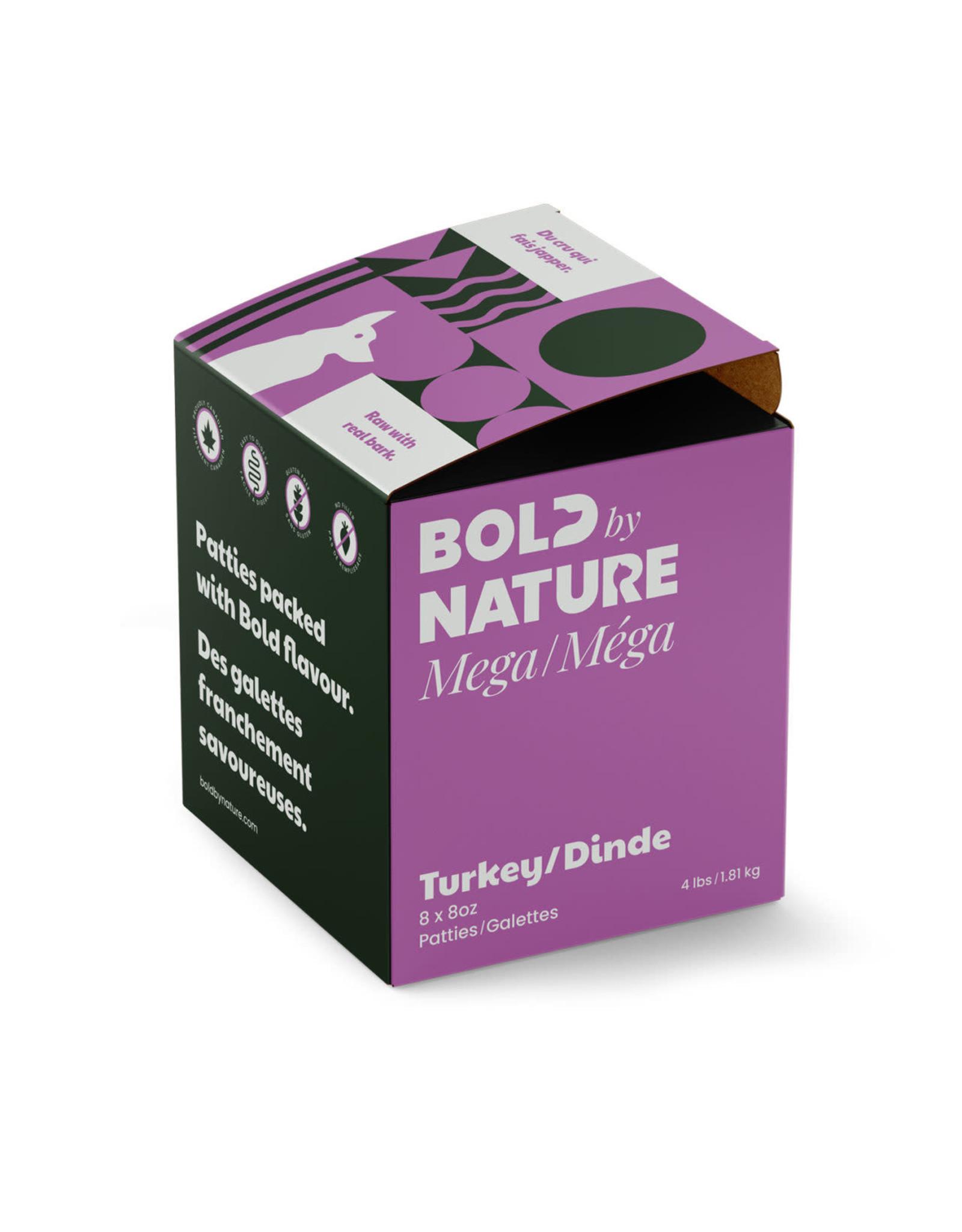 BOLD BY NATURE MEGA TURKEY  4LB