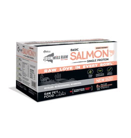 IRON WILL RAW IRON WILL RAW BASIC SALMON 4LB